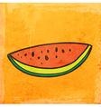 Watermelon Cartoon vector image