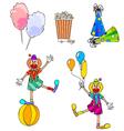 carnival set vector image