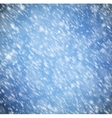 Background with snow vector image vector image