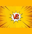 comic light versus background vector image