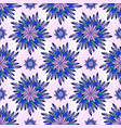 east seamless pattern with abstract flowers vector image vector image