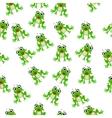 frog prince or princess vector image vector image