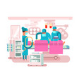 operating room design vector image vector image