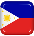 philippines flag vector image vector image