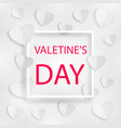 romantic background happy valentines day vector image vector image