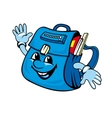 School satchel vector image