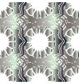 seamless silver pattern ethnic texture vector image