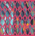 vintage grunge geometric pattern vector image