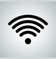 wi-fi signal wi fi internet hotspot icon vector image vector image