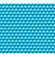 Hexagonal grid seamless pattern vector image