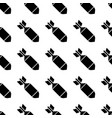 air bomb seamless pattern vector image vector image