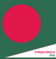 Bangladesh independence day vector image