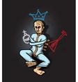 Putin Crazy vector image
