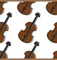 violin austrian national musical instrument vector image vector image