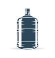 water bottle blue vector image