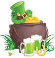 irish cartoon vector image vector image