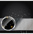 metal glass abstract background vector image vector image