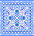ornamental tile design vector image vector image