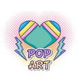 pop art cartoon vector image