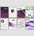 purple creative backgrounds and abstract concept vector image vector image