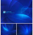 Sapphire abstract background vector image vector image