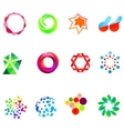 12 colorful symbols set 21 vector | Price: 1 Credit (USD $1)
