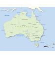 Australia 380x400 vector image