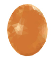 Colorful Polygonal Egg2 vector image vector image