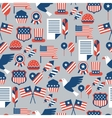 United States of America Independence Day seamless vector image vector image