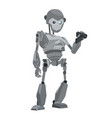 robot monkey vector image