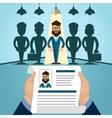 Interview Job vector image