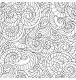 Coloring for adults Seamless Pattern from vector image vector image