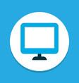 display icon colored symbol premium quality vector image