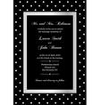 elegant invitation vector image