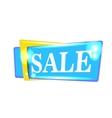 Sale banner design background Season discount vector image
