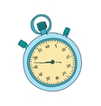 Colored doodle stopwatch vector image vector image