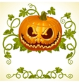 Pumpkin jack vintage pattern vector | Price: 3 Credits (USD $3)