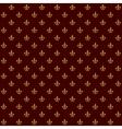 Royal Lily Fleur de Lis Seamless Pattern vector image vector image