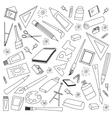 doodle set art vector image vector image