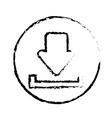 Download web symbol vector image vector image