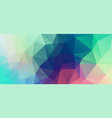 flat vintage color geometric triangle wallpaper vector image vector image