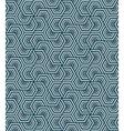 geometric blue seamless pattern vector image vector image