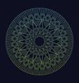mandala element spiritual harmony tribal vector image