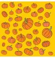 Pumpkin pattern vector image