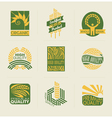 Wheat labels and badges vector | Price: 1 Credit (USD $1)