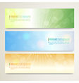 Banner Abstract background Twinkle vector image vector image
