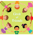 Friendship children of the world vector image vector image