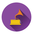 Gramophone icon vector image vector image