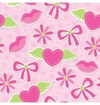 Pink seamless pattern vector | Price: 1 Credit (USD $1)