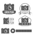 set badge emblem label and elements vector image vector image